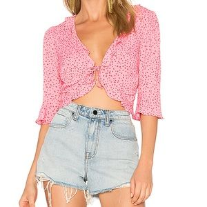 🌸LAST PRICE for love & Lemons Aurora Star tie top